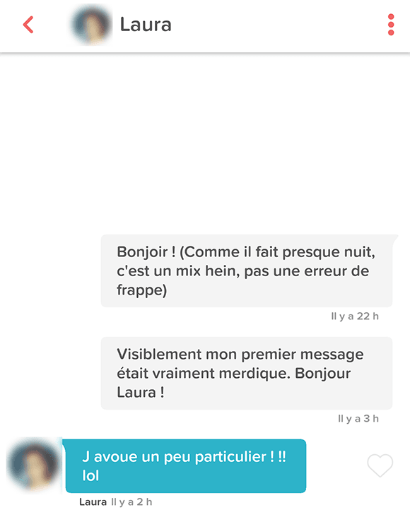 Exemple de messages de rencontre Internet